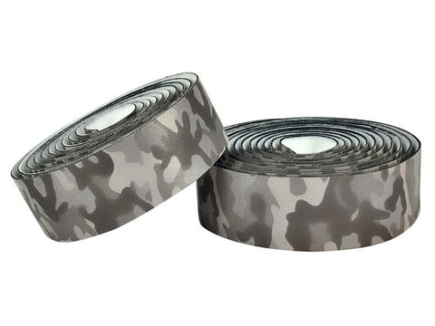 BLB SUPREME PRO REFLECTIVE BAR TAPE - CAMO GREY