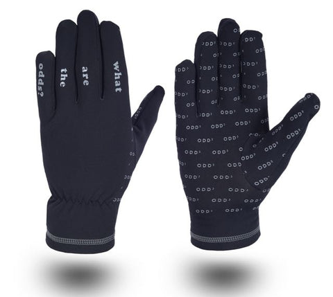 "ODD³ ""WHAT ARE THE ODDS"" LIGHTWEIGHT GLOVES BLACK"