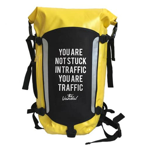 The Vandal - Waterproof Backpack Yellow