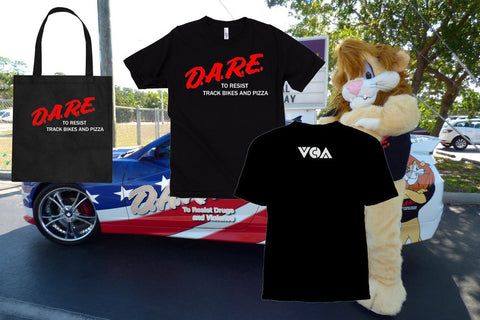 DARE TO RESIST TEE & TOTE combo