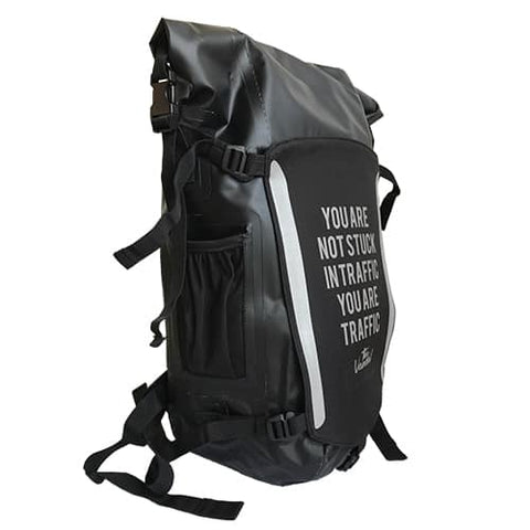 The Vandal - Waterproof Backpack Black