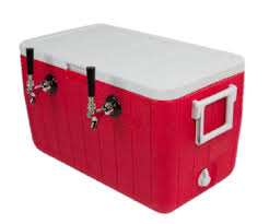 Rental Double Tap Jockey Box - No Electricity needed just ICE