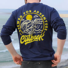 Load image into Gallery viewer, Cutback Long Sleeve - Navy