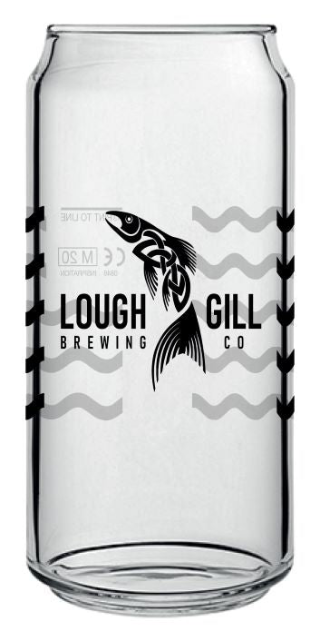 Lough Gill Brewery Can Glass 16.75oz