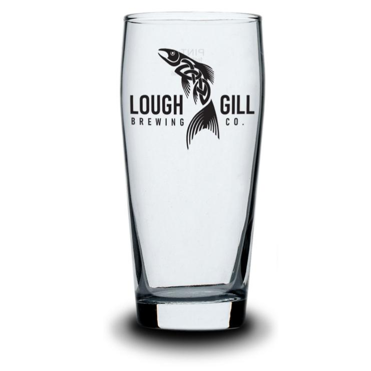 Lough Gill Brewery Pint Glass