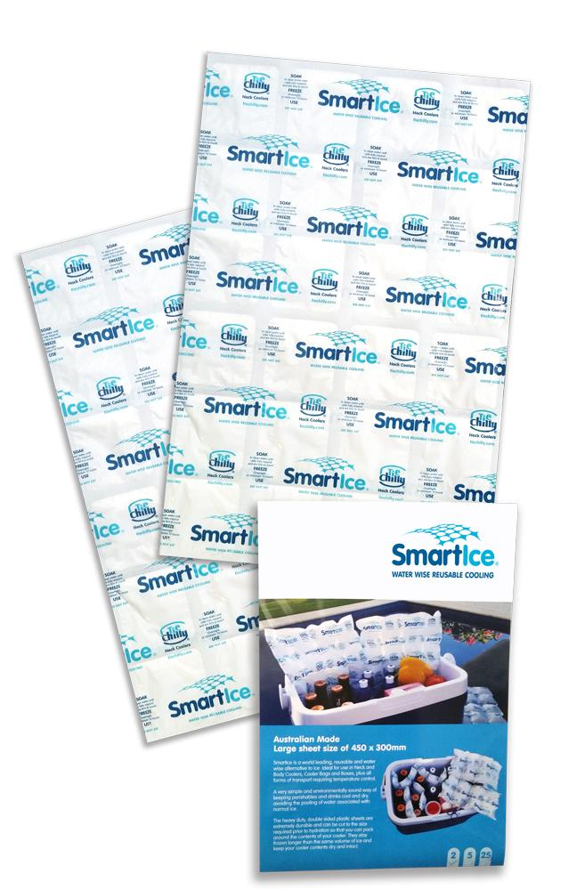 Smartice Jumbo Ice Sheets. Pack of 2.