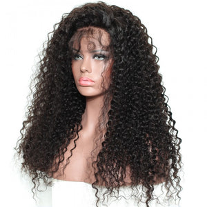 Italian Curly Front Lace Wig