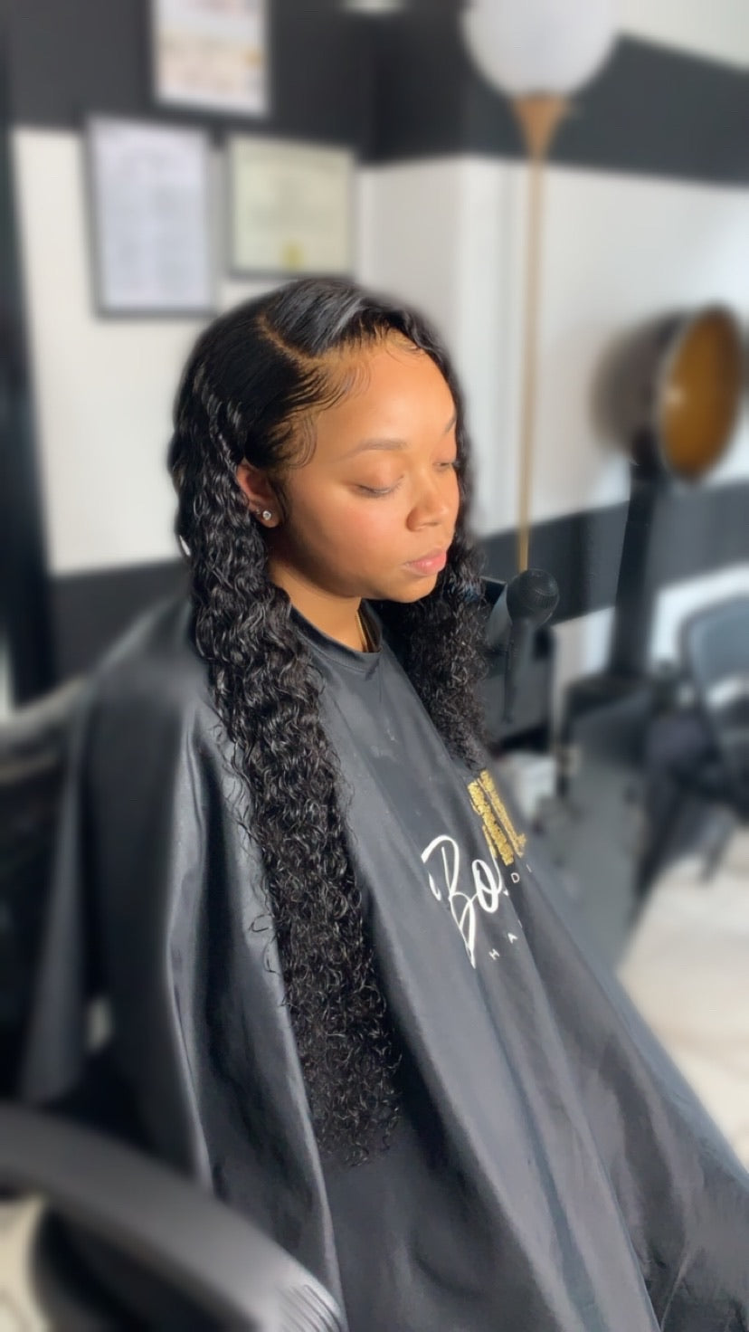 Lace Frontal Install + Hair Package Deal