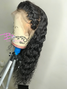 """Sierra"" Deep Wave Lace Frontal Custom Unit"