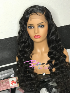"""April"" Loose Wave Lace Closure Unit"