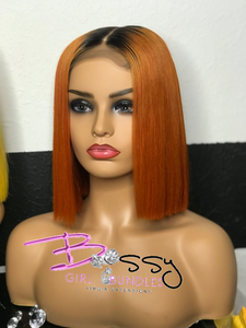 """Cyn"" Custom Colored Lace Closure Unit"