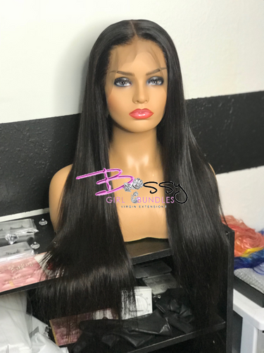"""Jess"" Custom Straight Lace Frontal Unit"