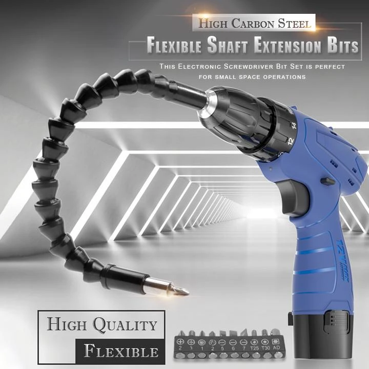 New Metal Bending Flexible Shaft Electronic Drill Connecting Link Extension