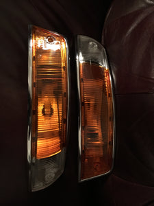 Porsche 911 SWB Front Turn Signal Restoration ~ Concours restoration of authentic original Porsche parts