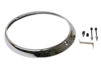 "7"" H4 Headlight Trim Rings for Porsches"