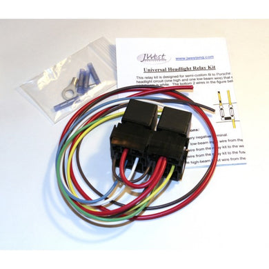 JWest Engineering Headlight Relay Kit ~ BEST-IN-CLASS