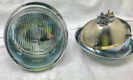 Original Bosch H4 Headlight Restoration ~ Concours restoration of authentic originals