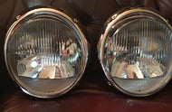 Bosch H1 Headlights ~ Concours level restoration of original parts