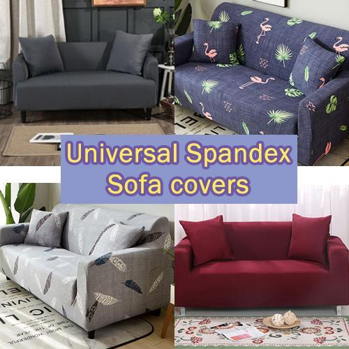 One piece Universal Spandex Printed Stretch Elastic Sofa Couch Recliner Chair Cushion Covers