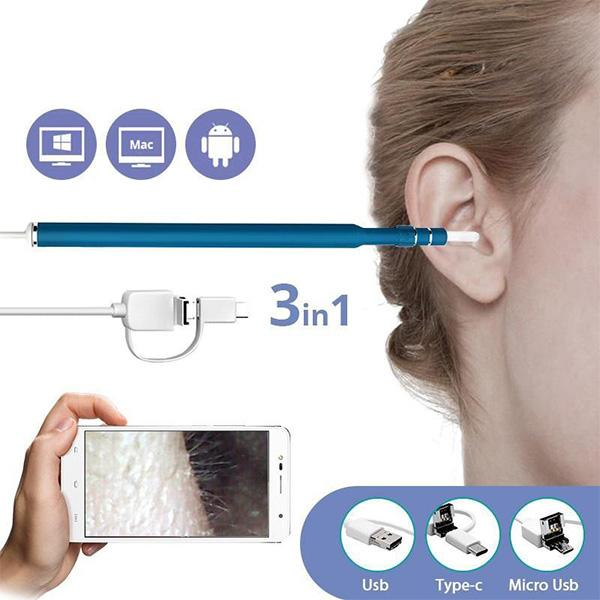 3-in-1 Ear Cleaning USB Endoscope