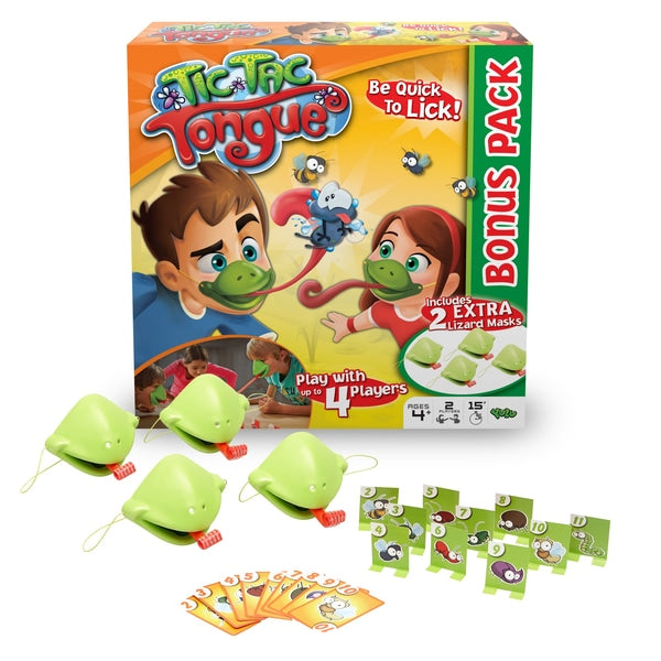 🔥HOT SALE-Tic Tac Tongue-Puzzle Game🦎