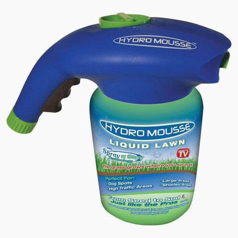 Hydro Mousse Liquid Lawn - From Seed to Sod! - Wolrdiscounts