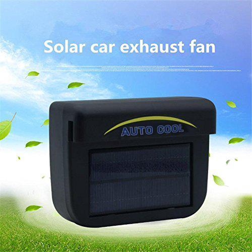 (60% OFF today!)Solar Car Exhaust Fan
