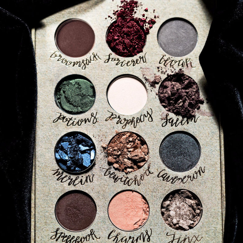 Cosmetics Wizardry and Witchcraft Eyeshadow Palette