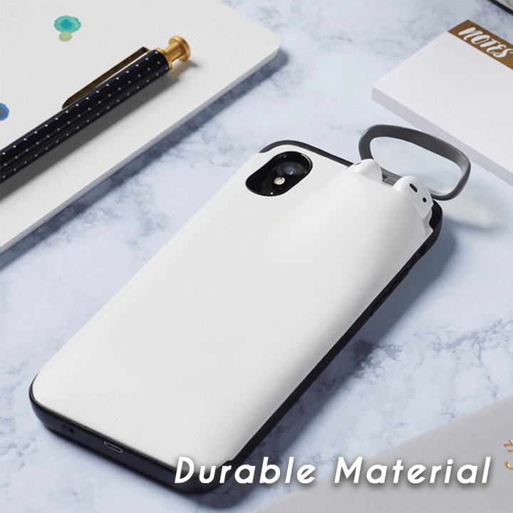 (Last 2 Days Promotion - 50% OFF) 2 in1 AirPods IPhone Case