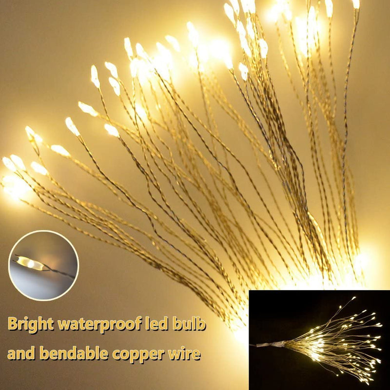 Waterproof Solar Fireworks Lamp