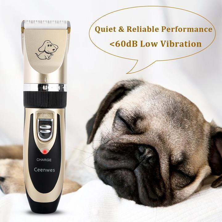 Fancy Clipp™ Low Noise Pet Hair Clipper, Cat - Dog Hair Cutter