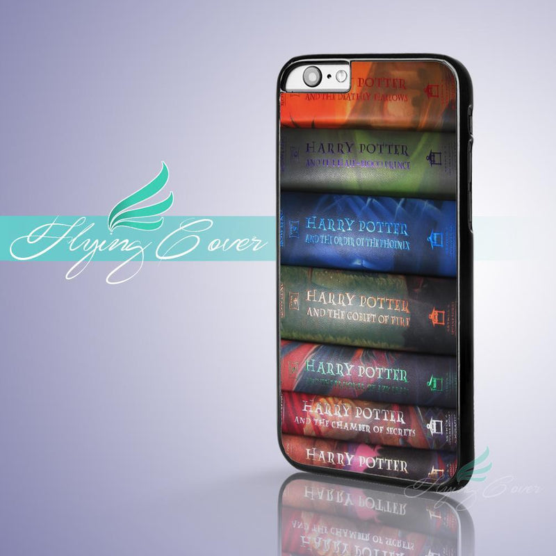 Harry Potter Books Coque Phone Cases for Apple iPhone - Wolrdiscounts