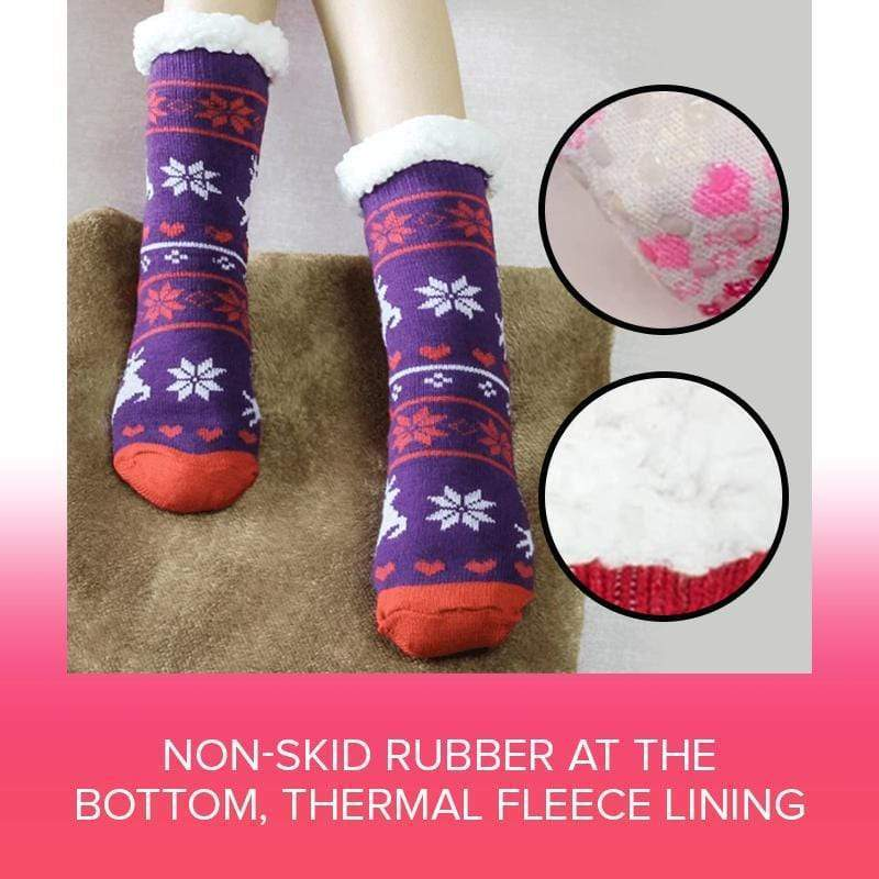CozyPlush™ Extra Warm Fleece Indoor Socks
