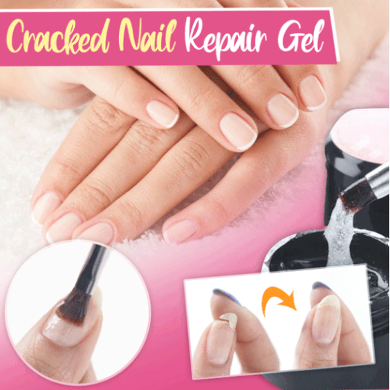 Cracked Nail Fiber Repair Gel