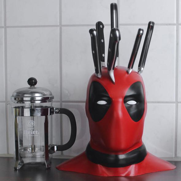 Kitchen Deadpool Knife Holder