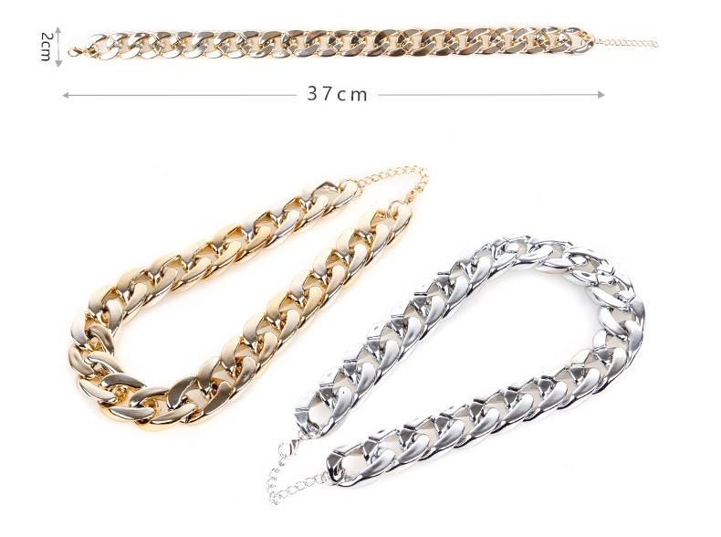 The Golden Boss Chain (Adjustable Length)