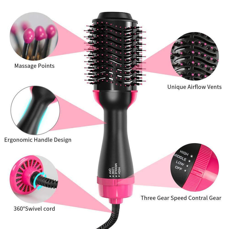 LAST DAY 75% OFF - 2 IN 1 ONE-STEP HAIR DRYER & VOLUMIZER