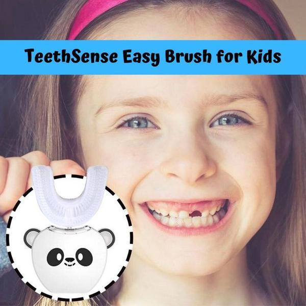 TeethSense EasyBrush, Automatic Toothbrush for Kids
