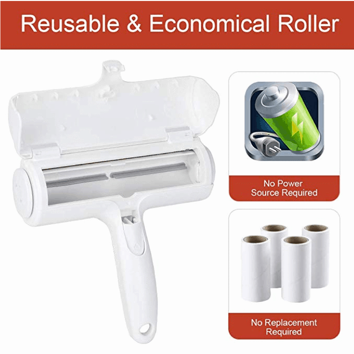 2-Way Pet Hair Remover Roller