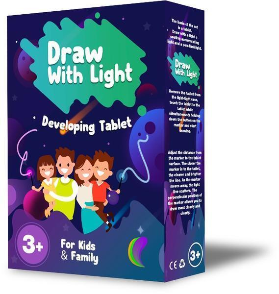 DRAW WITH LIGHT™ - FUN AND DEVELOPING TOY