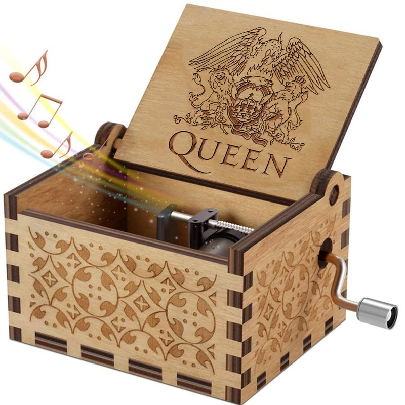 Limited Edition Queen – Engraved Music Box