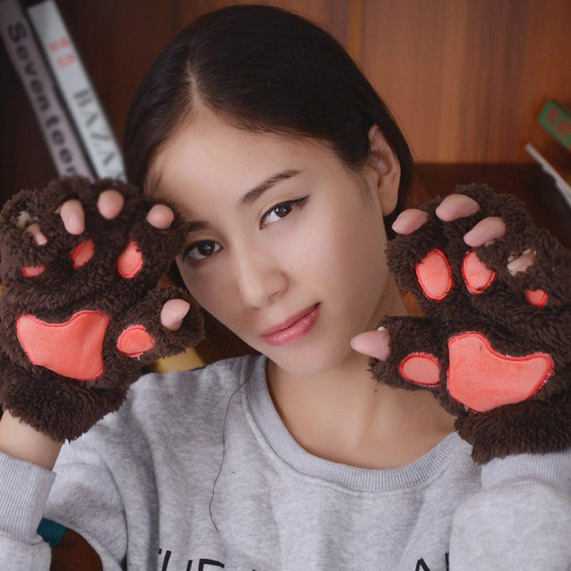 Fingerless Cat Gloves FREE Offer - Wolrdiscounts