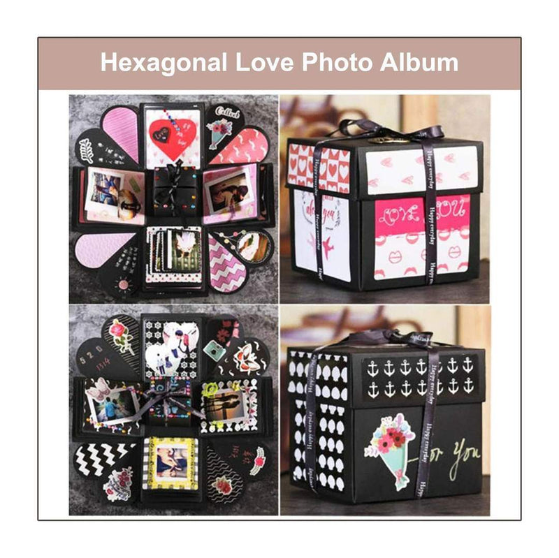 HEXAGONAL LOVE PHOTO ALBUM