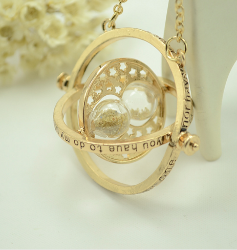 Harry Potter Time Turner Necklace - Wolrdiscounts