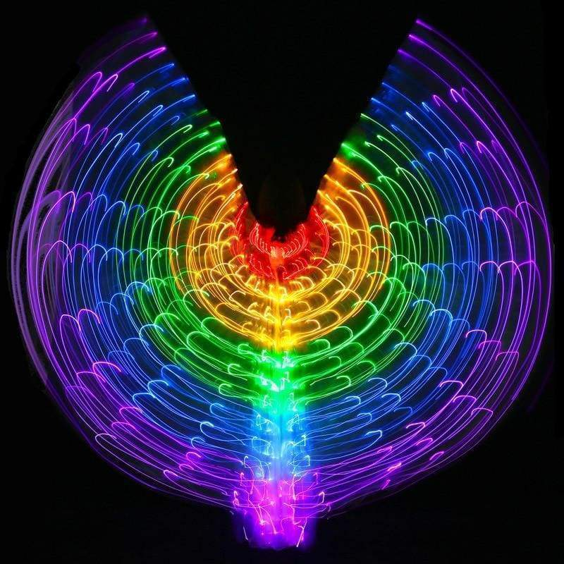 Rainbow LED Wings