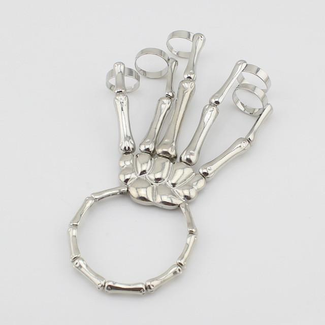 Unique Skeleton Hand Bracelet