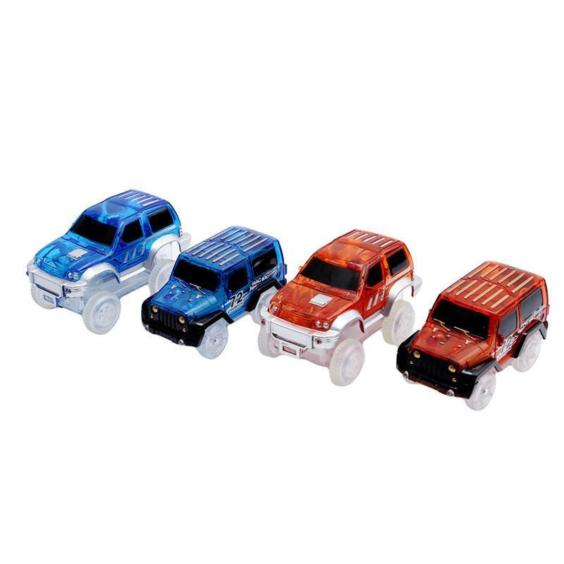 Car  For Magic Glow Racing Track Set - Wolrdiscounts