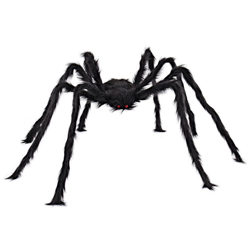 Hairy Spider with Light-Up Eyes Halloween Decoration