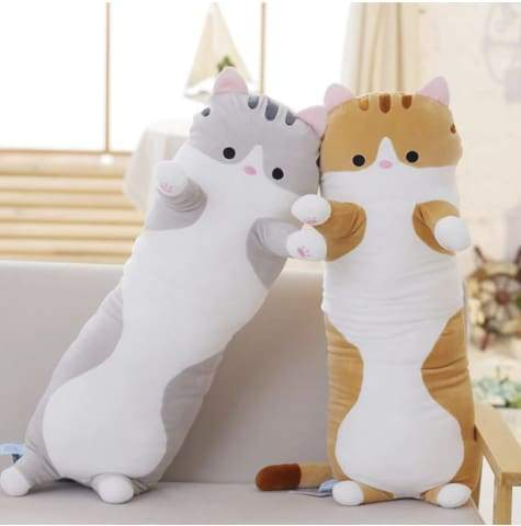 PresentPet™ 'Snuggle Me' Plush Cat Pillow
