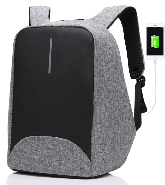 Multifunctional Anti-thief USB Charging Men 16inch Laptop Backpack - Wolrdiscounts